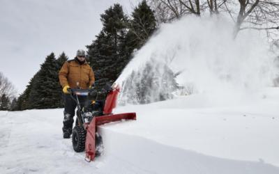 L'utilisation adéquate de votre souffleuse à neige.