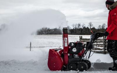 Comment entreposer adéquatement votre souffleuse à neige